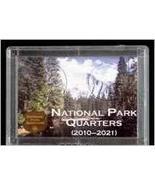 National Park Quarters 2x3 Plastic Display Case Mountain Design - $5.98