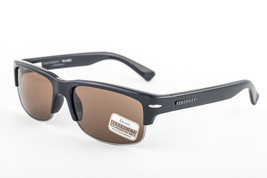 Serengeti Vasio Shiny Black / Polarized Drivers Sunglasses 7374 57mm - $391.51