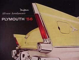1956 Plymouth Brochure Mopar FINS Belvedere Plaza Savoy - $11.47