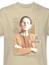 Star Trek Odo T-shirt Deep Space Nine DS9 retro 100% cotton beige tee CBS520 image 2