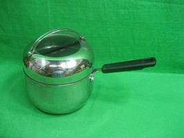 Vintage Cooks Three (3) Quart Stainless - Nonstick Sauce Pan with Lid - $17.72