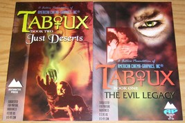Taboux #1-2 VF/NM complete series - vampire horror - antarctic press comics set - $4.50
