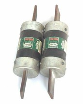 LOT OF 2 COOPER BUSSMANN FUSETRON FRN-500 DUAL ELEMENT CLASS K9 FUSES 250V FRN50
