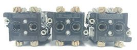 LOT OF 3 CUTLER-HAMMER 2-POS. SELECTOR SWITCHES W/ 120V 50/60HZ COILS, 5.3V LAMP image 5