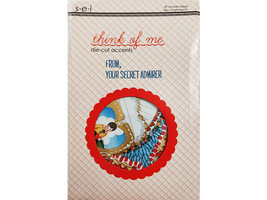 """SEI """"Think of Me"""" Die-Cut Accents, 29 Pieces, Scrapbooking, Cards, Journaling"""