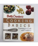 1st Edit Betty Crocker's Cooking Basics Learning to Cook Confidence 1998... - $9.89