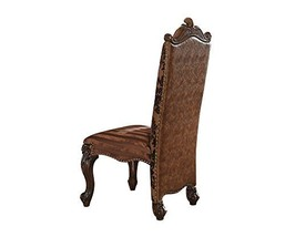 Acme Versailles 2-Tone Light Brown And Cherry Oak Side Chair Set Of 2 - $825.19