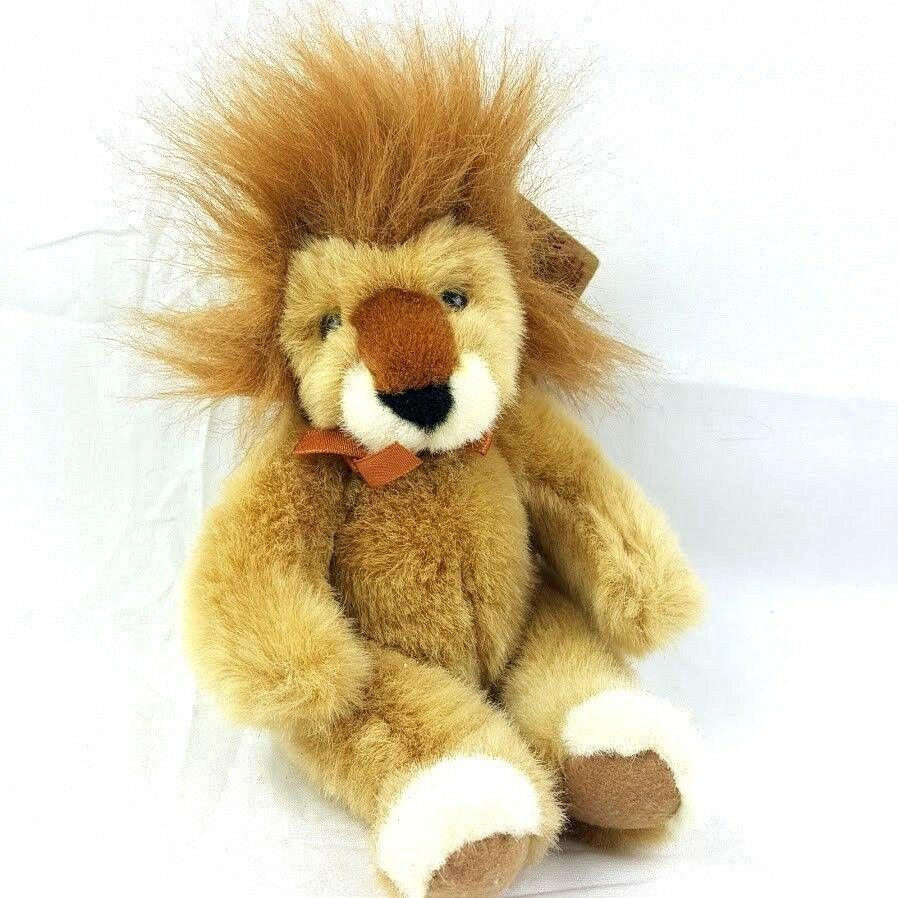 Primary image for RUSS Plush Handcrafted HeartCraft Collection Gold Lion Stuffed Animal 9""