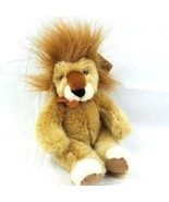 """RUSS Plush Handcrafted HeartCraft Collection Gold Lion Stuffed Animal 9"""" - $20.78"""