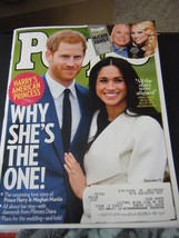 People Magazine - Prince Harry & Meghan Markle Cover - December 11, 2017 - $6.24