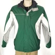 Columbia NCAA Michigan State Reversible Fleece Jacket Sz S EUC - $42.99