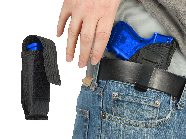 KAHR Compact Barsony OWB Gun Belt Holster for HK Sub-Comp 9mm 40 45