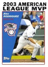 2004 Topps #716 Alex Rodriguez NM-MT Rangers MVP - $0.75