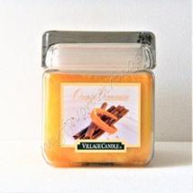 Village Candle Square Double Wick Orange Cinnamon 26 Ounce Candle - $25.00