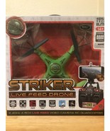 World Tech Toys 2.4Ghz Striker Spy Drone Video/Picture 4.5 Channel RC Qu... - $99.41