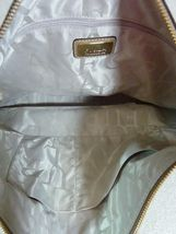 NWT Furla Cappuccino Pebbled Leather Jo Vertical Tote Bag image 11