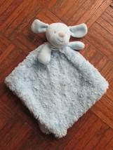 Blankets and Beyond Blue Puppy Dog Security Blanket Swirls Plush Baby Lovie - $28.21