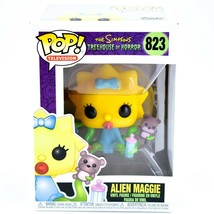 Funko Pop! The Simpsons Treehouse of Horror Alien Maggie #823 Vinyl Figure image 1