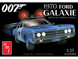 AMT 1:25 Scale 1970 Ford Galaxie Police Car (James Bond) - 1172 - $36.30