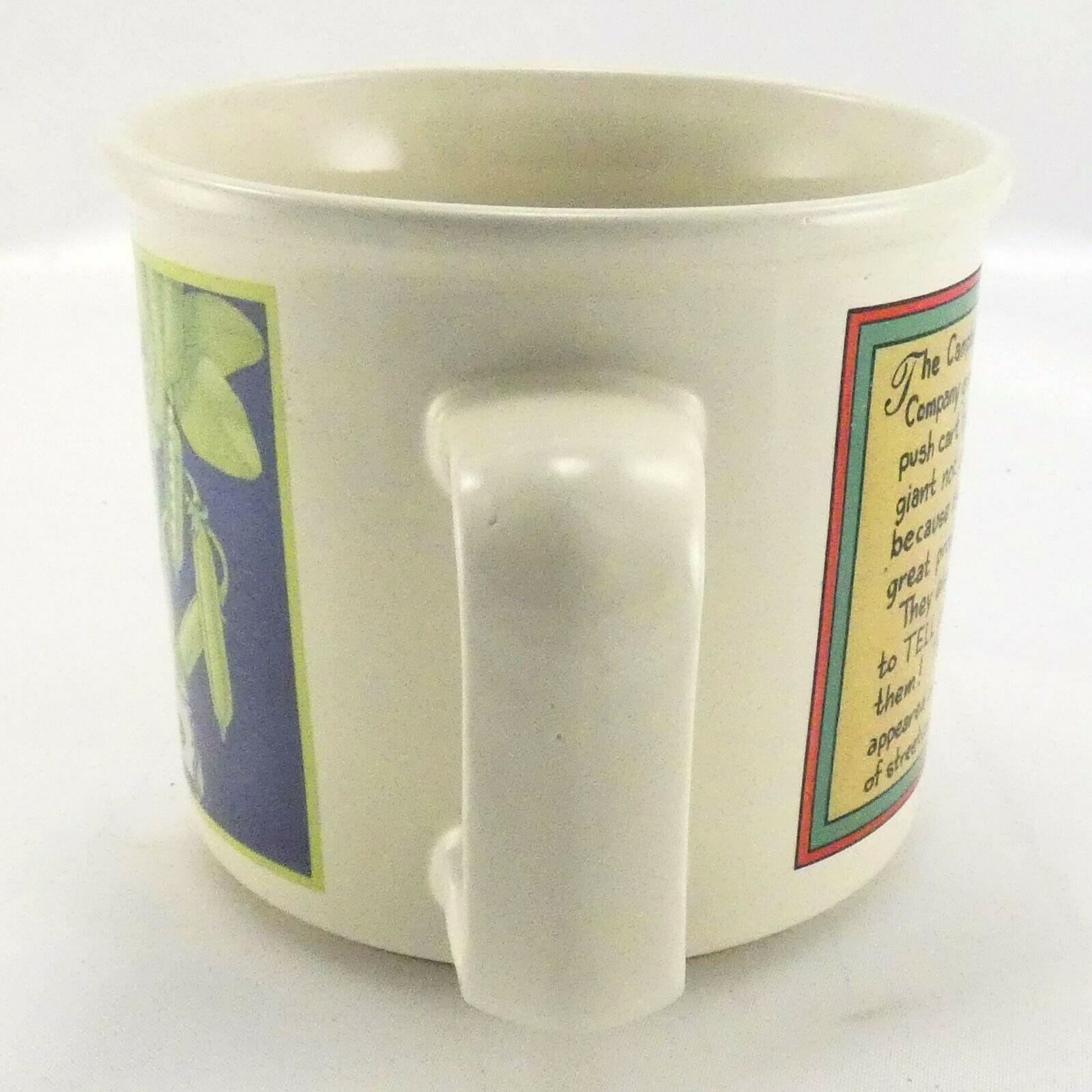Campbell's Pea Soup Mug Vintage 1994 Ceramic by Westwood 12oz