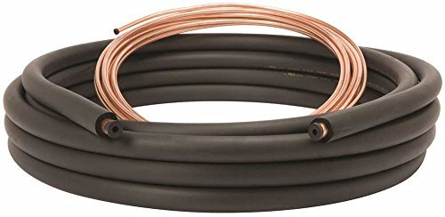 "MUELLER INDUSTRIES 61420500 Air Conditioner Line Set, 3/8"" by 7/8"" by 50'"