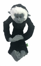 "Wild Republic Spider Screaming Monkey Animal Black 17"" Plush Hanging Hoo... - $22.92"