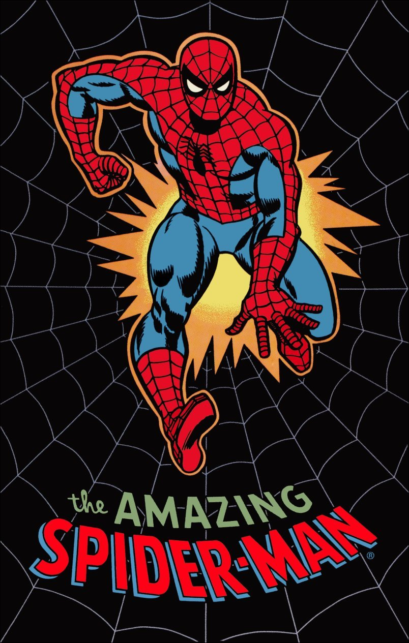 Marvel Comics Spiderman 70's Style Reproduction Poster Stand-Up Display