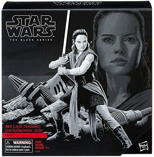 Primary image for Star Wars The Black Series 6 inch Action Figure - Rey (Jedi Training) on Crait