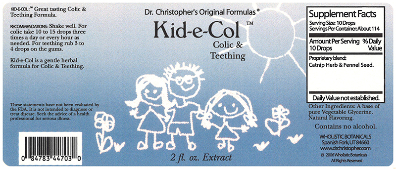 Christopher's Original Formulas - Kid-e-Col - 2 fl. oz.