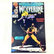 Marvel Comics 1990 Vol 1 #53 Wolverine Comet Man Stingray Black Widow VF - $4.94