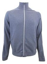J. Crew Stadium Fleece Zip Front Warm Up Jacket Men's Size XL 100% Cotton - $24.44