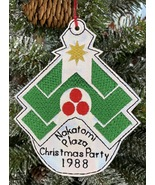 Nakatomi Plaza Christmas Party 1988 Ornament - $7.50