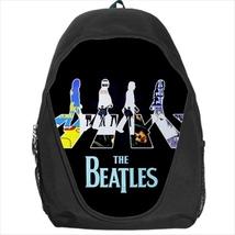 backpack beatle rock band groopies hard metal  school bag bookbag  - $39.79
