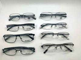Harley Davidson Metal Frames Wholesale lot Black Gunmetal glasses lot of... - $242.47