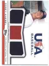 2011 Topps USA Baseball Triple Jersey #TR-CK Corey Knebel NM-MT (Memorab... - $8.00
