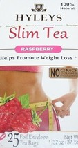 Hyleys 100% Natural Slim Green Tea Raspberry 25 Teabags - $7.99