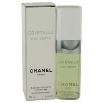 Cristalle Eau Verte Eau De Toilette Concentree Spray 3.4 Oz For Women  - $215.76
