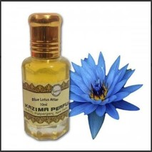 10ml 0.3fl.oz Blue Lotus Attar Pure Natural Undiluted free alcohal fragr... - $65.00