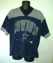 1996 Dallas Cowboys Riddell Blue Gray Polyester NFL Football Jersey Size... - $29.67