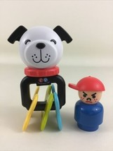 Fisher Price Puppy Pal Clackers Activity Toy Little People Figure 2014 M... - $14.80