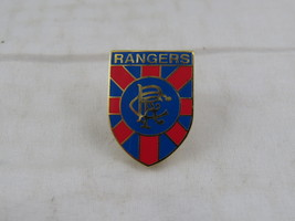 Vintage Glasgow Rangers Pin - Featuring Team Crest - Inlaid Pin - $15.00