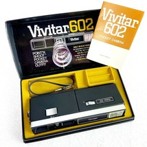 Vintage Vivitar 602 Point N Shoot Pocket Camera With Manual PARTS ONLY - $9.90