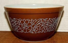Pyrex Woodland 1-1/2 Pint Bowl - Brown #401 - $14.90
