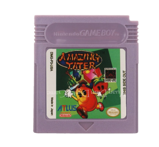 Primary image for Amazing Tater Nintendo Game Boy Color GBC Cartridge