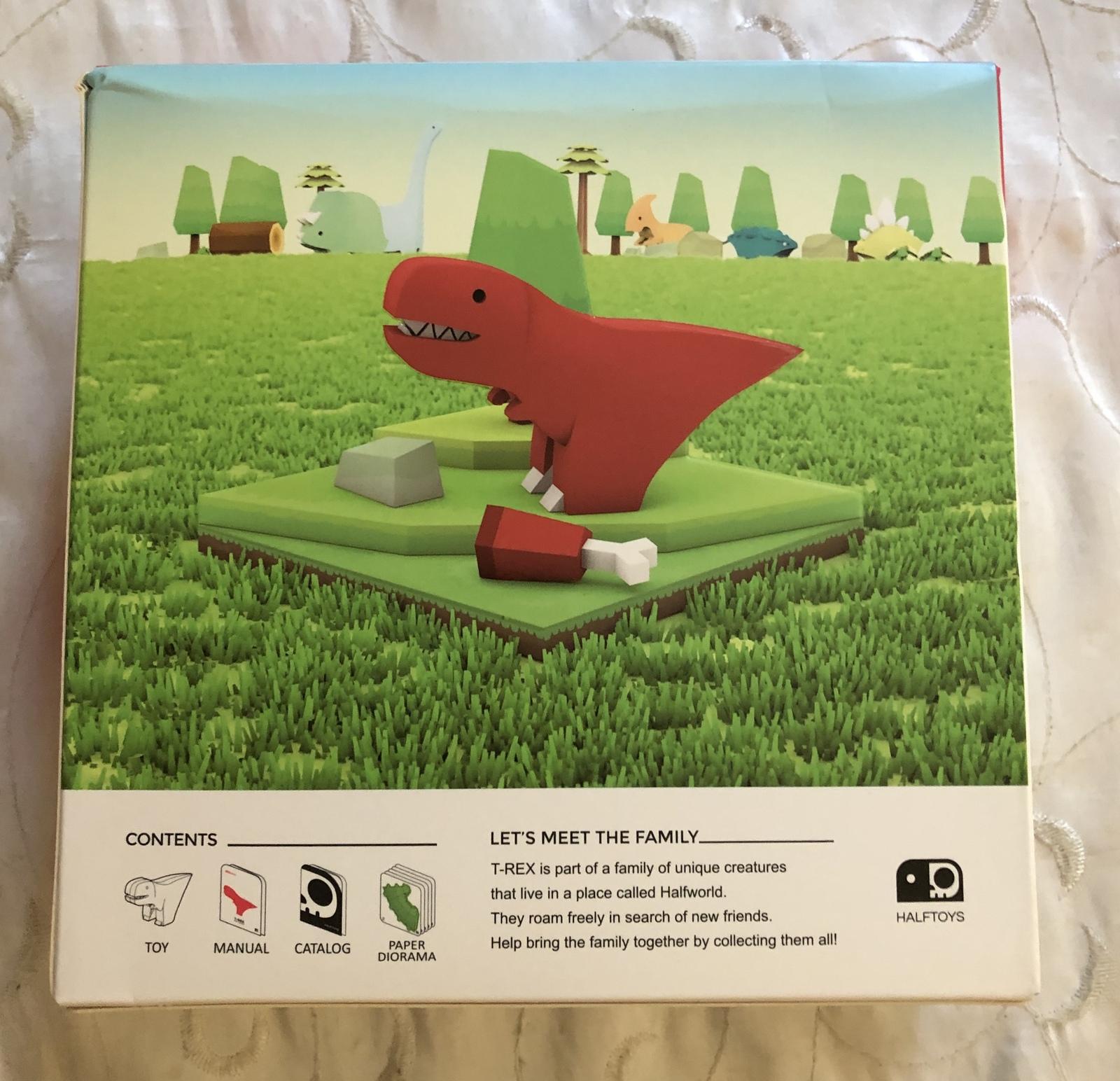 Halftoys Dino Series 002 Tyrannosaurus Rex Puzzle Toy Set ...