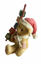 """Cherished Teddies Holden """"Catchin' The Holiday Spirit"""" 2.5 Inch Figurine... - $13.09"""