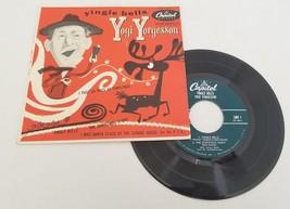 Yogi Yorgesson Yingle Bells 45 Christmas Holiday Record EP Capitol EAP 1... - $23.71