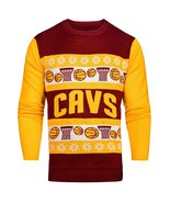 NBA Cleveland Cavaliers Light-Up One Too Many Ugly Sweater - $29.95