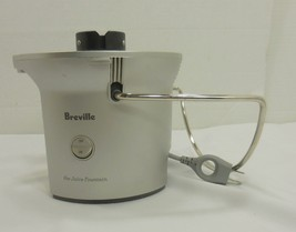 Breville The Juice Fountain BJE200XL Juicer Replacement Base Motor Silve... - $11.39