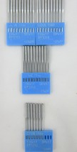 Blue Sleeve Code 1550 Industrial Needles Round Shank  NEW Total 37  Walk... - $9.46